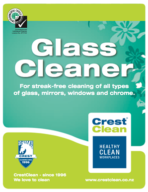 Crest Clean Glass Cleaner2