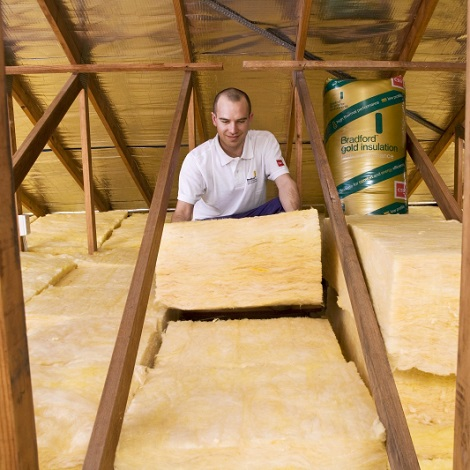 bradford gold hi performance thermal acoustic ceiling insulation batts